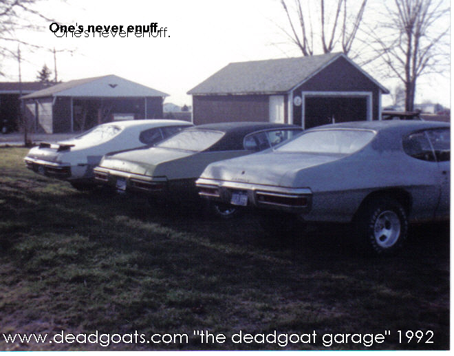 Vintage deadgoats Racing before we were really even racing...